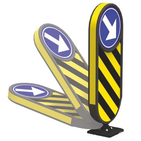 Ειδική βάση με πλαστική πινακίδα AdFlex-S