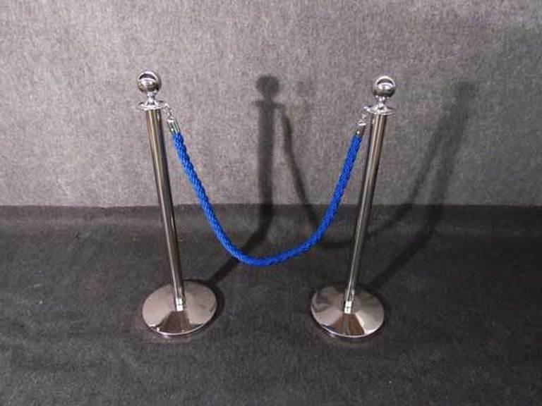 Σχοινί πλεγμένο nylon μήκους 150cm μπλε χρώμα1