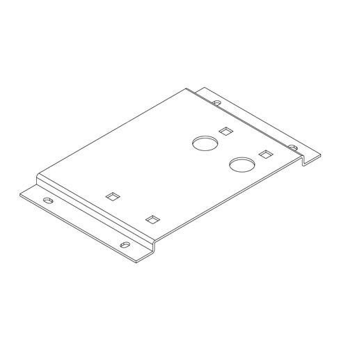 Βάση στήριξης μεταλλική για μοτέρ VDS Simply 600 (SL600)