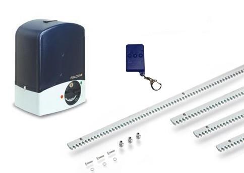 Μηχανισμός για συρόμενες πόρτες βάρους έως 500kg Genius Falcon m5 Small Kit