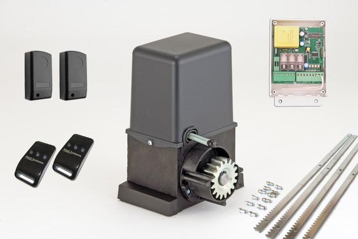 Σετ μηχανισμού για συρόμενες αυλόπορτες βάρους έως 600kg GR ITALIA - KIT FULL