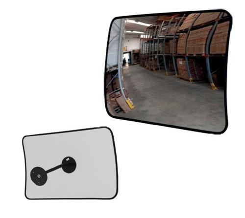 Καθρέπτης εσωτερικής χρήσης σε ορθογώνιο σχήμα διαστάσεων 60cm x 40cm με πολλαπλά ρυθμιζόμενη βάση στήριξης