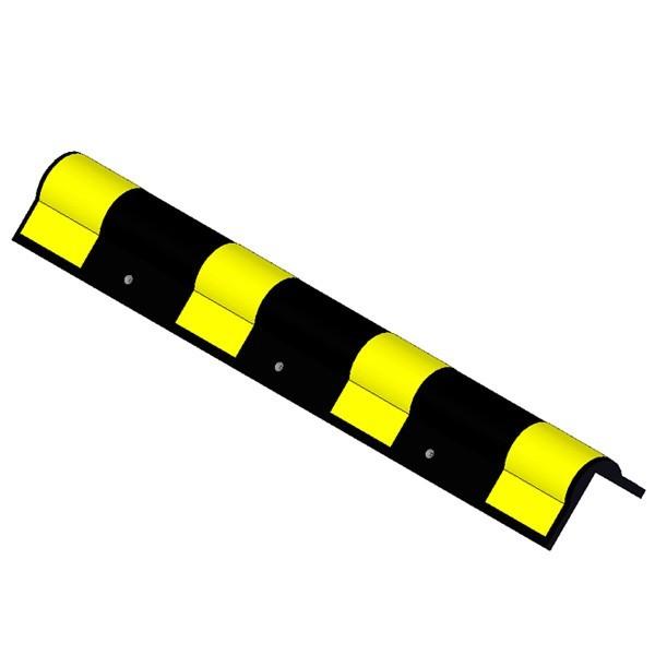 Γωνιά προστασίας από ελαστικό στρογγυλεμένης ακμής πάχους 20mm KDH-128