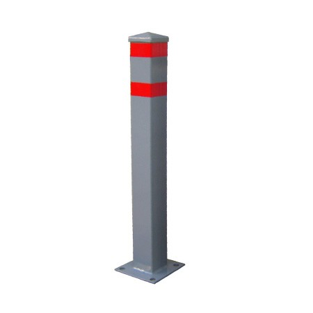 Κολωνάκι πεζοδρομίου τετράγωνης διατομής ύψους 70cm