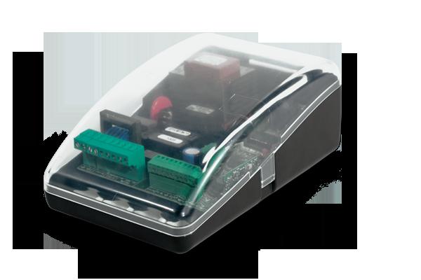Ηλεκτρονικός πίνακας ελέγχου MC15 με ενσωματωμένο δέκτη για μπάρες ελέγχου κυκλοφορίας 230VAC