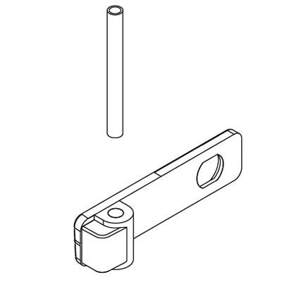 Πορτάκι κλειδαριάς αποσύμπλεξης με πίρο για μοτέρ VDS Simply 600