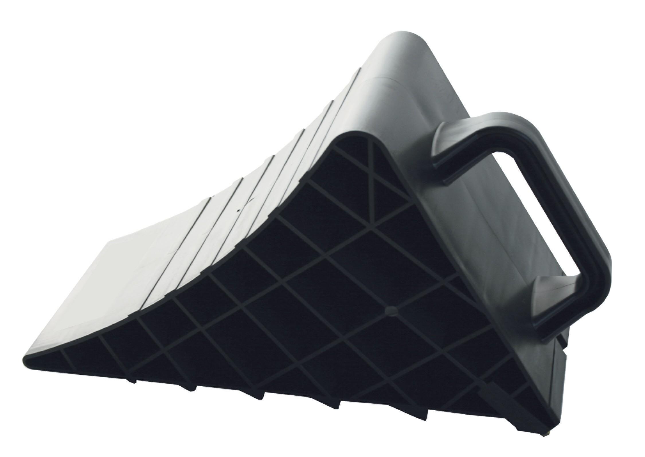 Σφήνα τροχού από πλαστικό κατάλληλη για την ακινητοποίηση τροχοφόρων - Ιδανική για φορτηγά