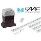 Set μηχανισμού για συρόμενες γκαραζόπορτες FAAC 746