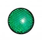 Φακός (πεδίο) σε πράσινο χρώμα διαμέτρου Φ120mm. Κατάλληλος για φανάρια STAGNOLI.
