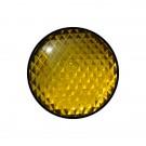 Φακός (πεδίο) σε κίτρινο χρώμα διαμέτρου Φ120mm. Κατάλληλος για φανάρια STAGNOLI.