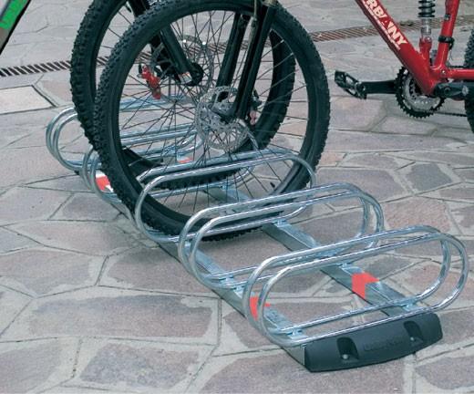 Μπάρα στάθμευσης για ποδήλατα 5 θέσεων