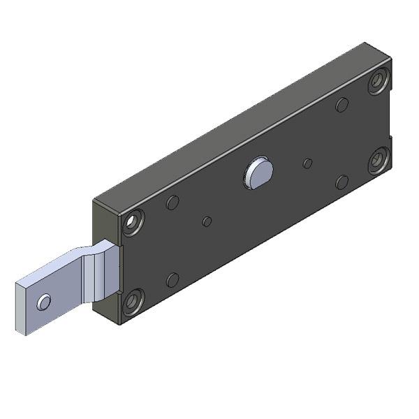 Ακριανή κλειδαριά ασφαλείας