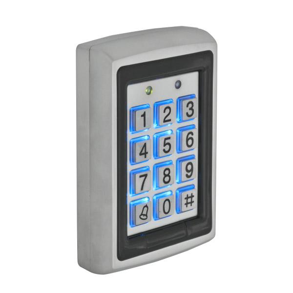 Σύστημα ελέγχου πρόσβασης (access control) με καρταναγνώστη και φωτιζόμενο πληκτρολόγιο YK-568L