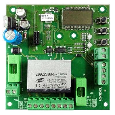 Ηλεκτρονικός πίνακας ελέγχου για φωτεινούς σηματοδότες
