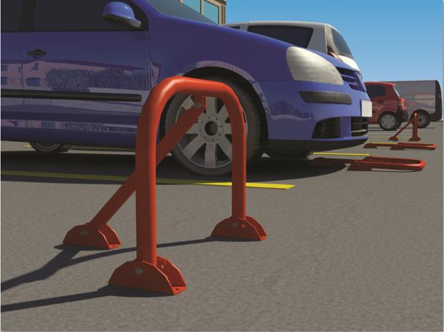 Χειροκίνητες μπάρες parking
