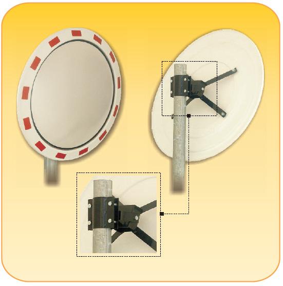 Κυρτοί καθρέπτες ασφαλείας