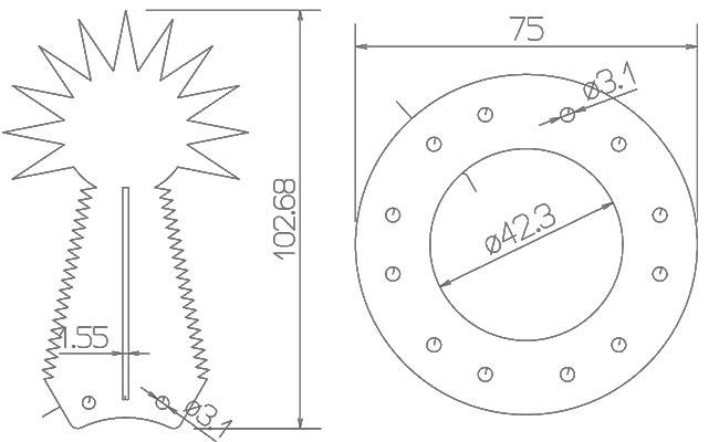 Σχέδιο πτερυγίου COBRA
