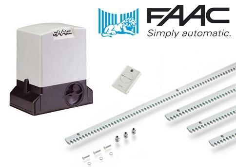 Σετ μηχανισμού για συρόμενες γκαραζόπορτες FAAC 740
