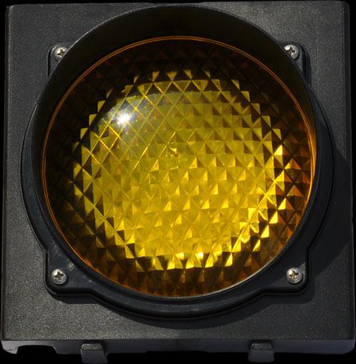 Φωτεινός σηματοδότης ενός φωτεινού πεδίου διαμέτρου 120mm