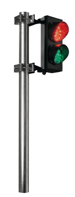 Φωτεινός σηματοδότης δύο φωτεινών πεδίων διαμέτρου 120mm