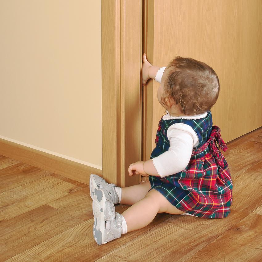 Προστασία δαχτύλων για παιδιά σε πόρτες