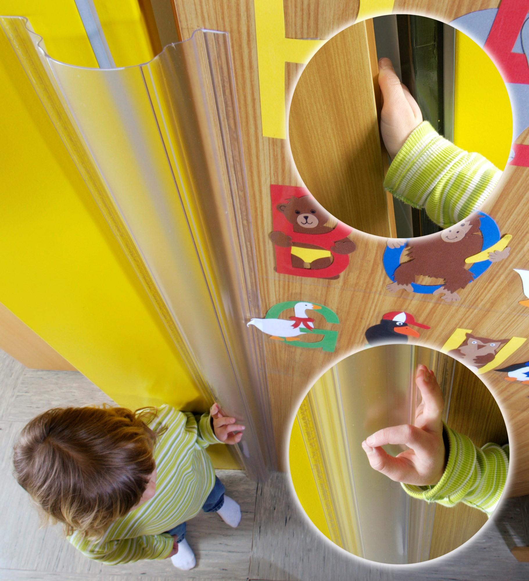 Πλαστικό προστατευτικό δαχτύλων για πόρτες FINGERSTOP 110