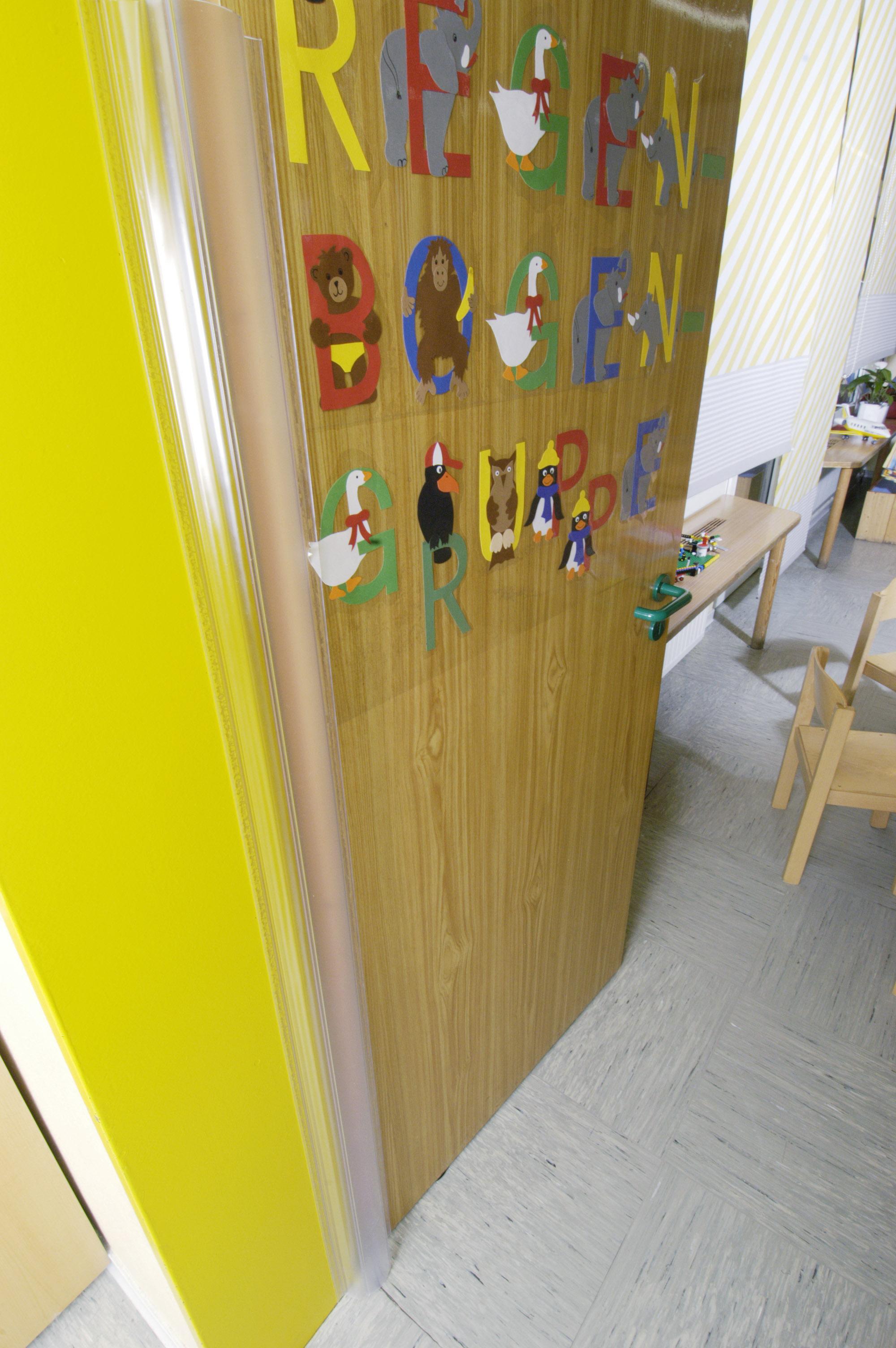 Προστατευτικό από πλαστικό για πόρτες