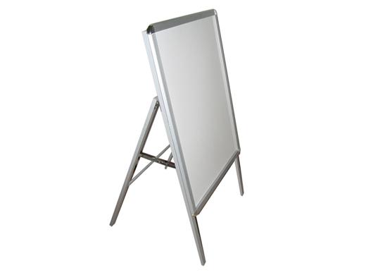 Διαφημιστικό σταντ προβολής 1 όψης από αλουμίνιο