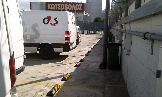 Wheel Stops at G4S