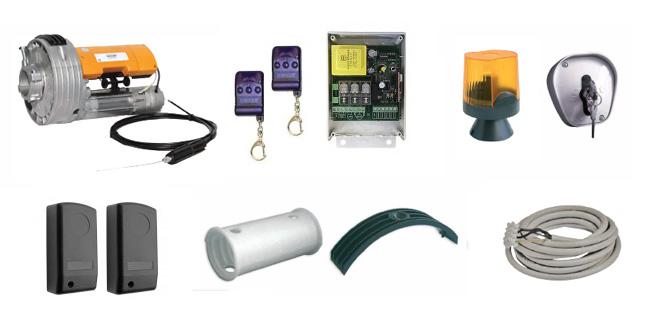 Set αυτοματισμού για μεταλλικά ρολά ασφαλείας