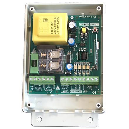 R2010D Πινακας ελεγχου κινητηρων 230 VAC για ρολα η συρομενες πορτες