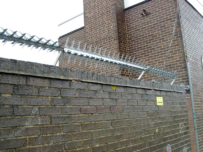 Περιστρεφόμενος φράχτης προστασίας COBRA