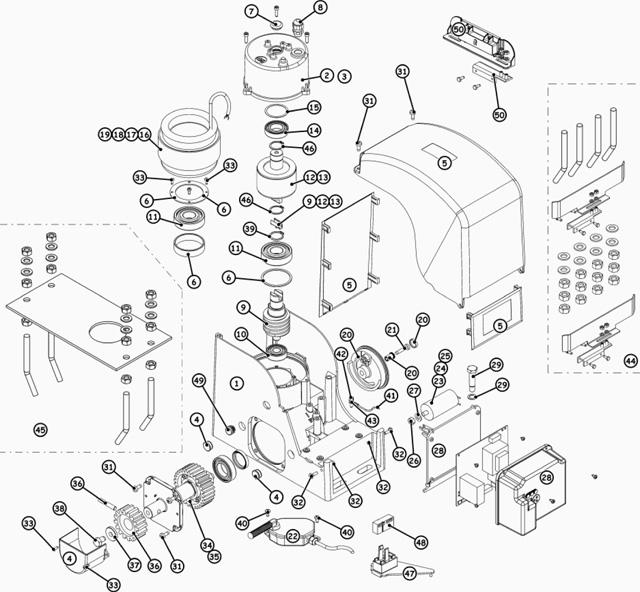 Spare Parts Falcom m14/m20/m20-3ph