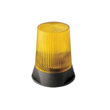 Αναλάμπων φανός κίτρινος στρογγυλός 230Volt