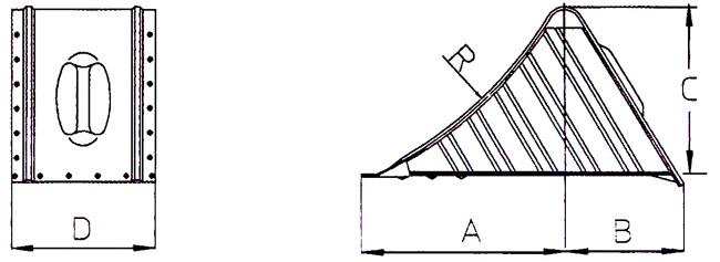 Διαστάσεις μεταλλικού τάκου